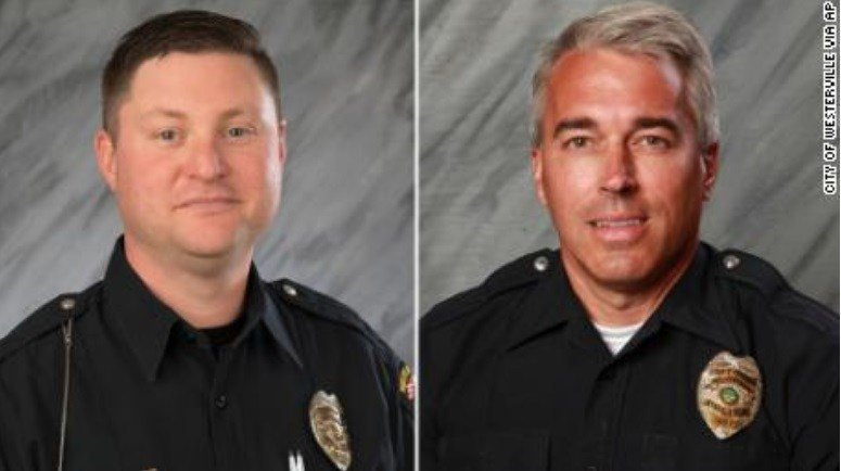 2 officers shot dead after responding to 911 hang-up call