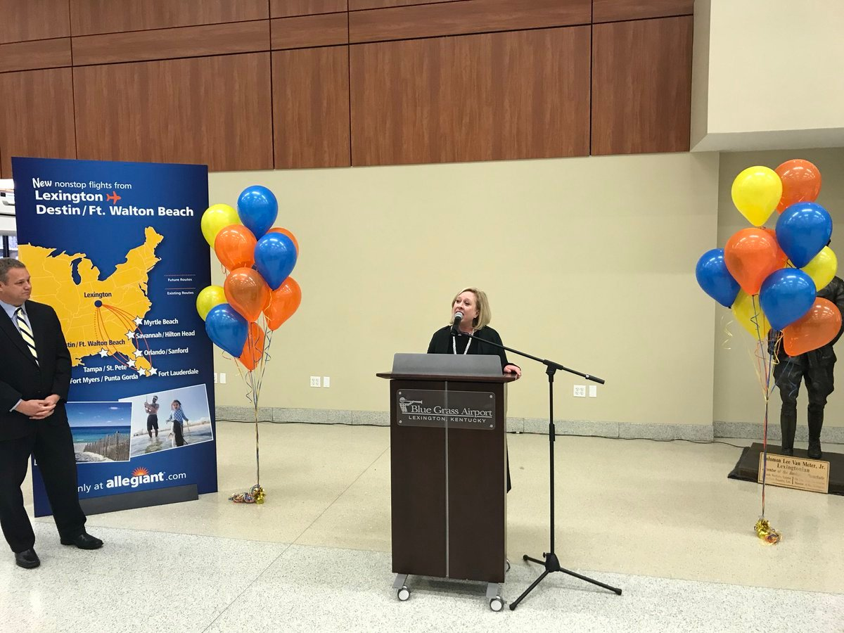 Allegiant Air creating base at Destin-Fort Walton Beach Airport