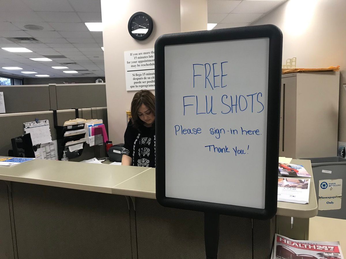 Free Flu Shots Tuesday At Lexington Health Department