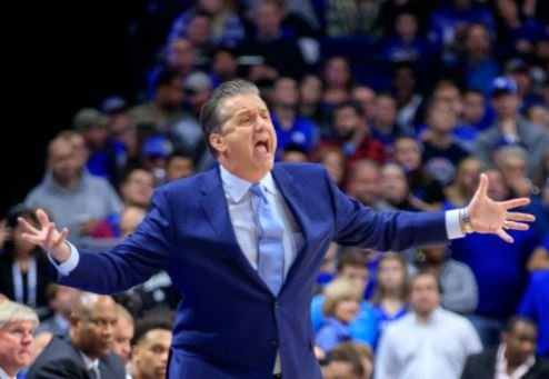 John Calipari says his team doesn't listen or shoot well, but he still believes a Final Four run is possible. (Vicky Graff Photo)