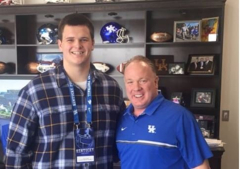 Christian Academy of Louisville sophomore offensive lineman John Young got a scholarship offer from UK coach Mark Stoops Saturday.