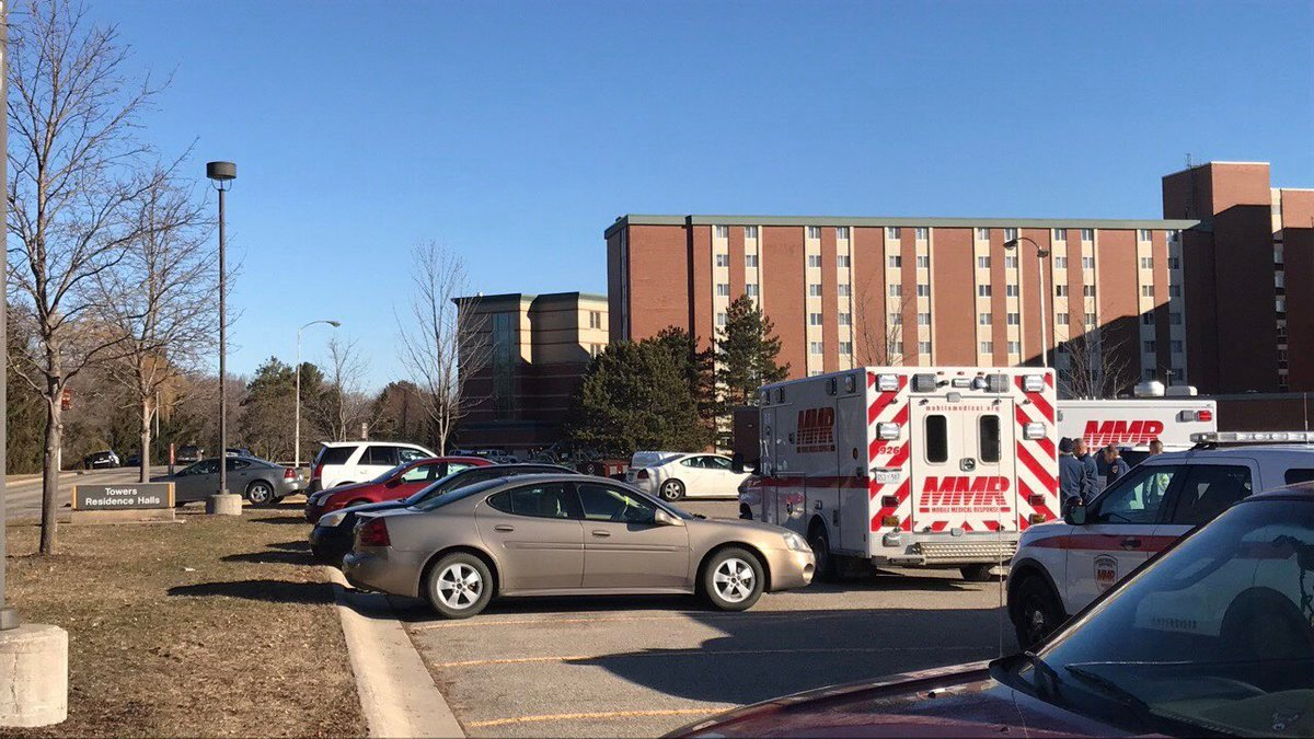 Central Michigan postpones game in wake of campus shooting