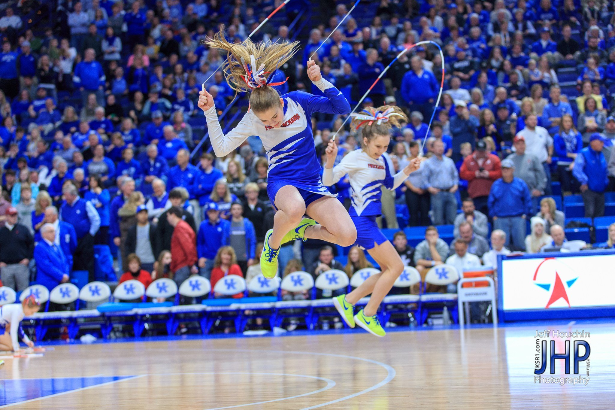 The Firecrackers performed at Rupp Arena last month. Saturday they will perform in St. Louis at the SEC Tournament. (Jeff Houchin Photo)