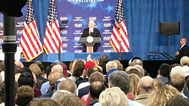 A Visit to the Plains: Pence Talks Unemployment and Tax Cuts