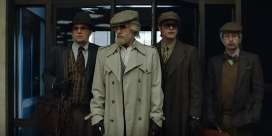 Screen Shot From Film American Animals