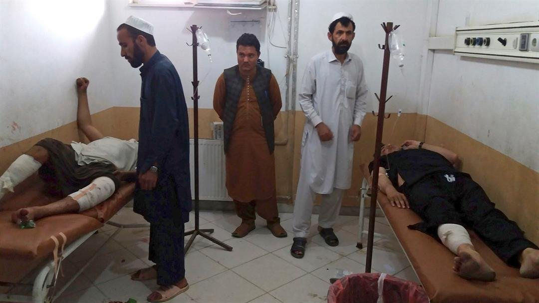 Afghanistan: At least 12 killed in Khost mosque blast