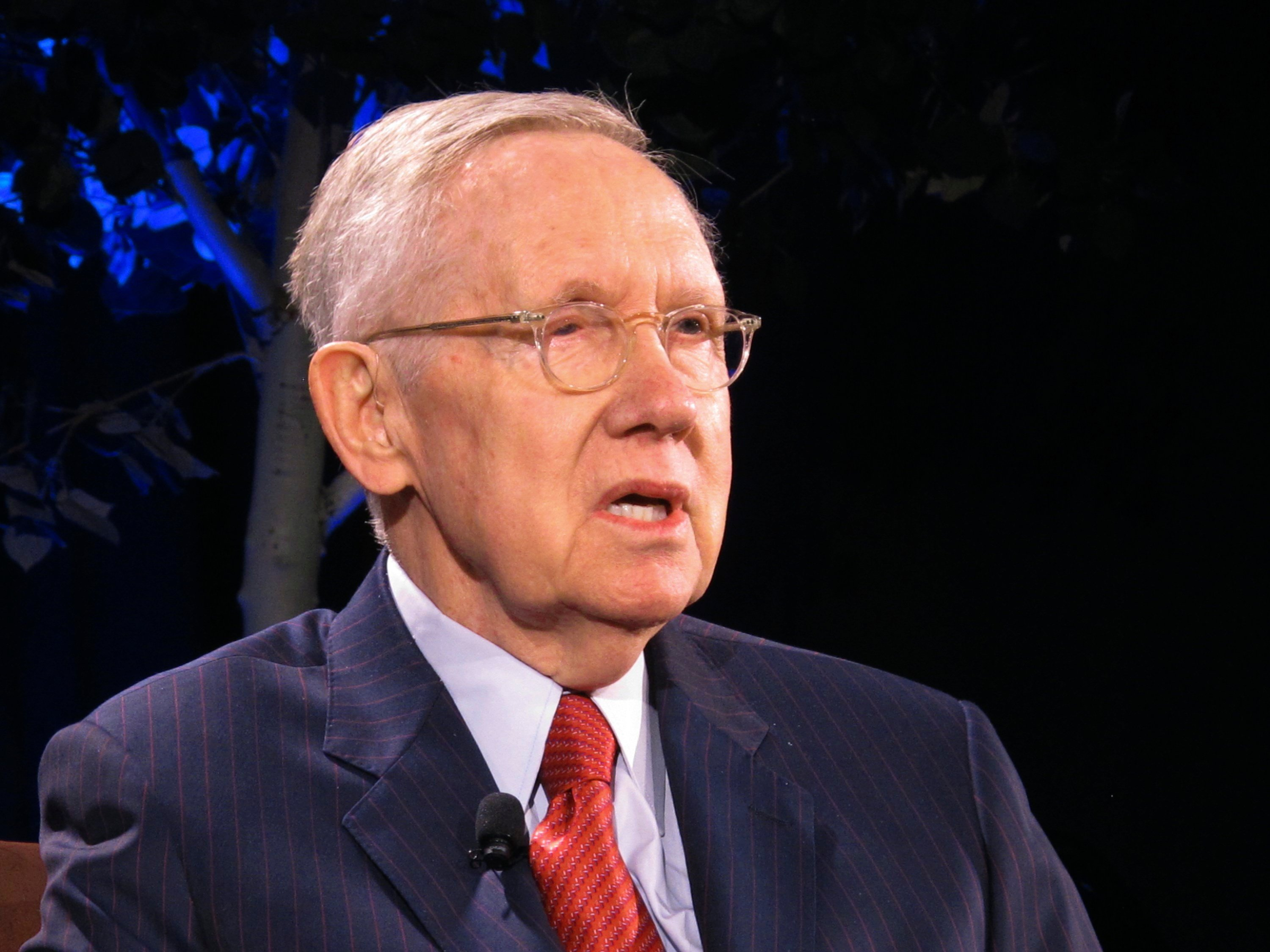 Former Democratic leader Harry Reid is being treated for pancreatic cancer