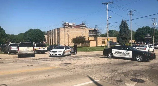 Former student shot, wounded after bringing gun to Dixon High