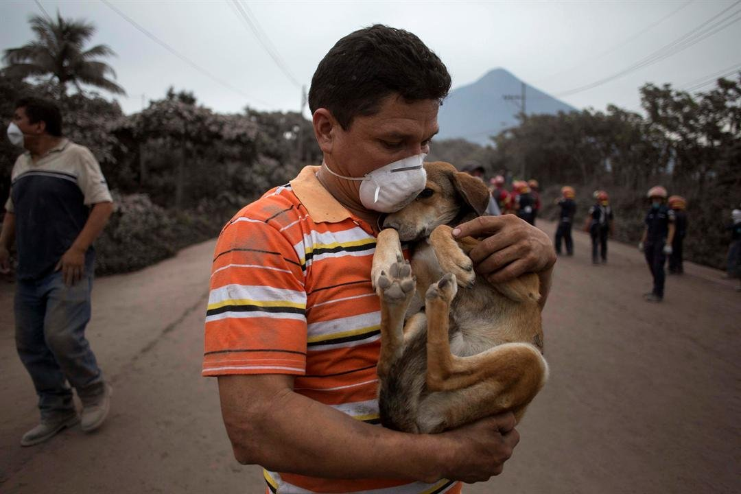 Woman Says Guatemalan Volcano Buried Her Family