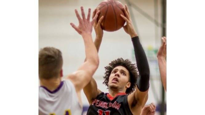 Dontaie Allen of Pendleton County will make an unofficial visit to UK this weekend. (Wayne Litmer Photo)