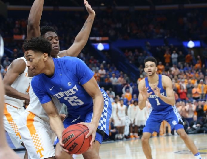 Kentucky and Tennessee will both be preseason top 10 teams in a loaded SEC. (Vicky Graff Photo)