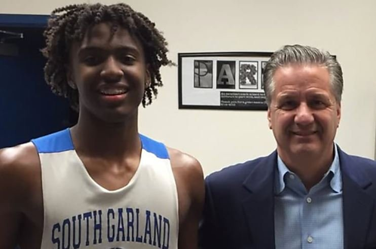 Tyrese Maxey could help attract other recruits to Kentucky.