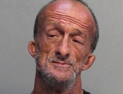 Homeless man with no arms charged with stabbing tourist in Florida