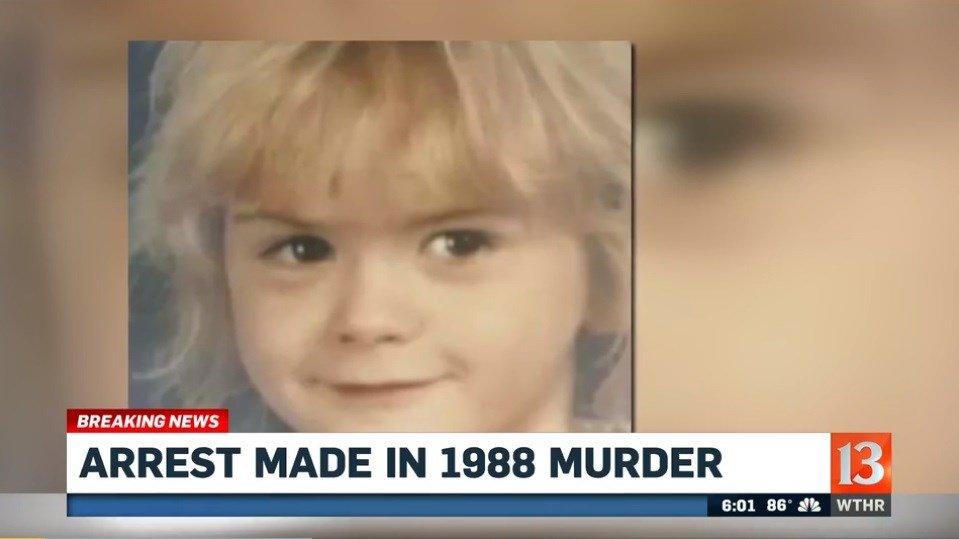 IN man, 59, arrested in 1988 murder of eight-year-old girl
