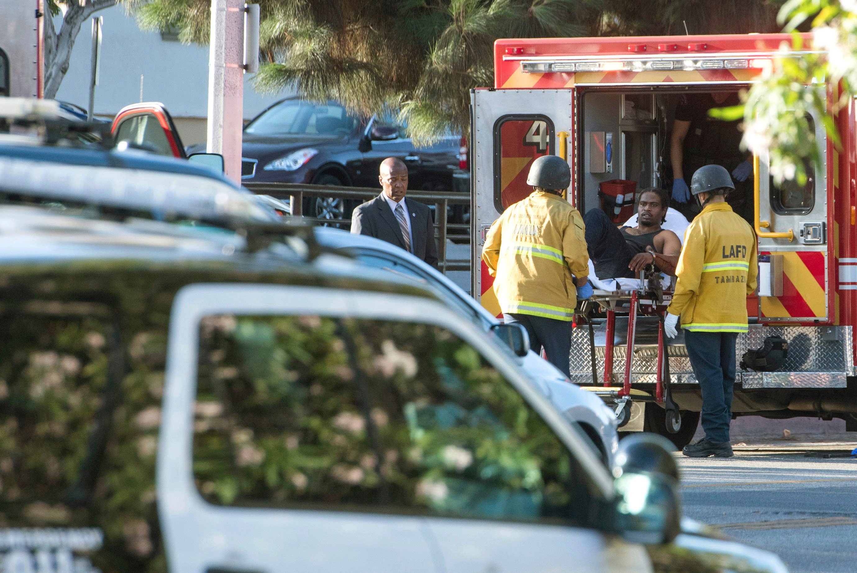 Suspect Takes Hostages at Los Angeles Trader Joes