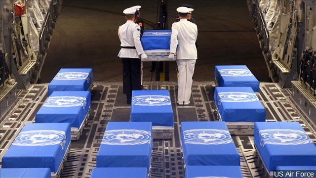 United States  welcomes home possible 'forgotten war' remains