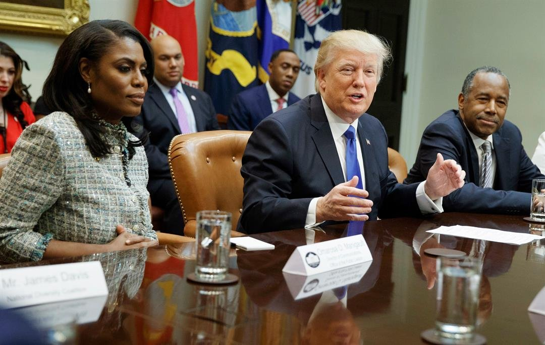 In wake of critical book, Trump calls Omarosa 'a lowlife'