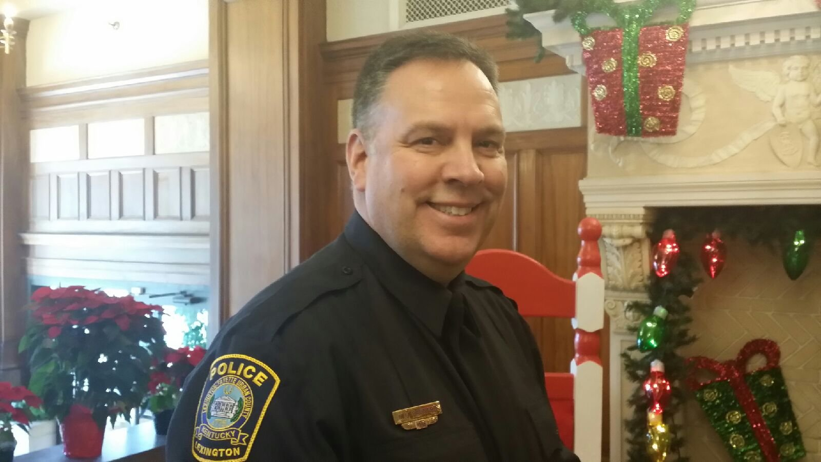 Mark Barnard named new Lexington police chief.