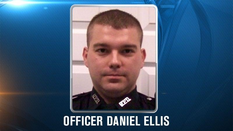 Officer Daniel Ellis (courtesy KSP)