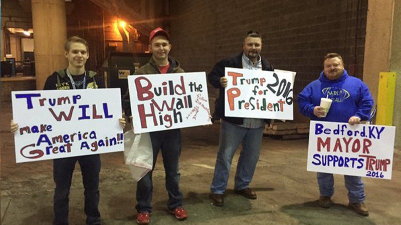 Image result for Trump louisville rally