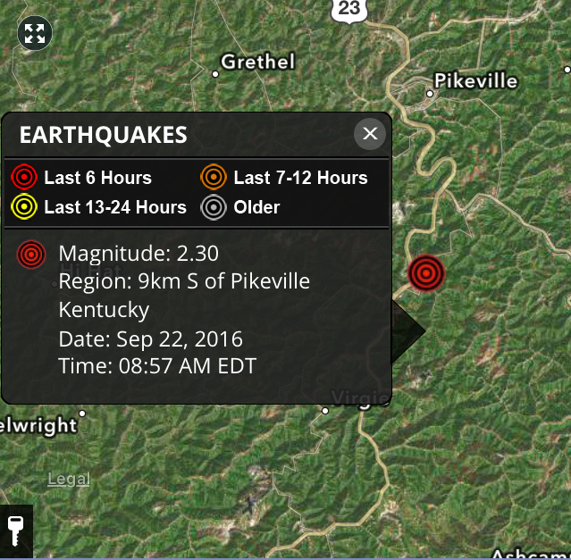 Earthquake Recorded In Eastern Kentucky LEX18com