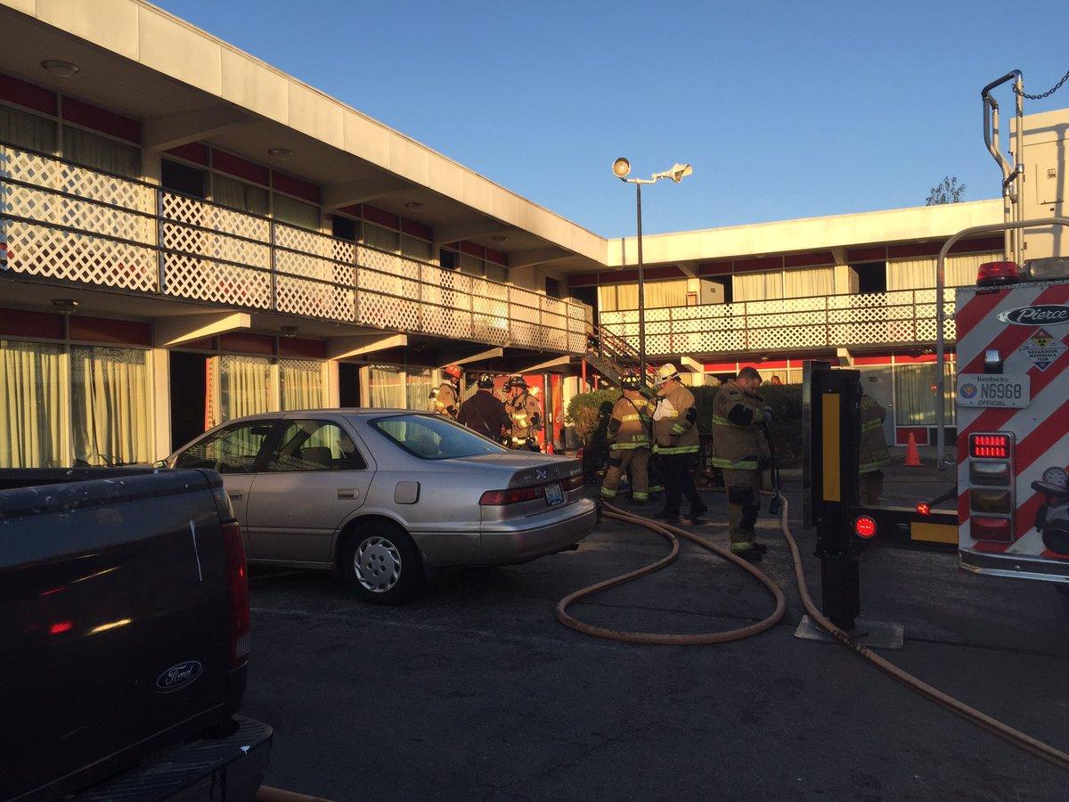 Crews Knock Out Fire At Lexington Motor Inn