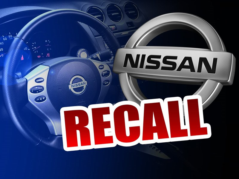 Nissan Recalls About 105K Cars To Replace Takata Air Bags - LEX18 ...