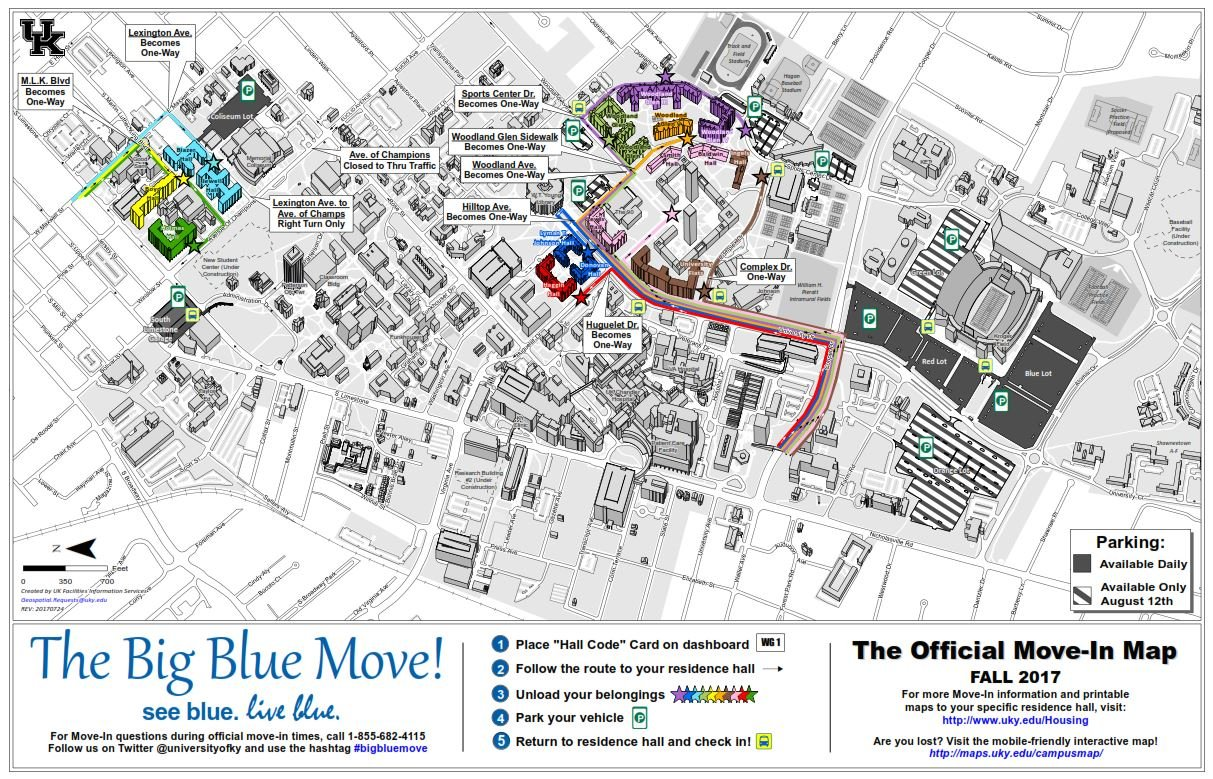 UK MoveIn Day Be Aware Of Traffic Changes LEX18com