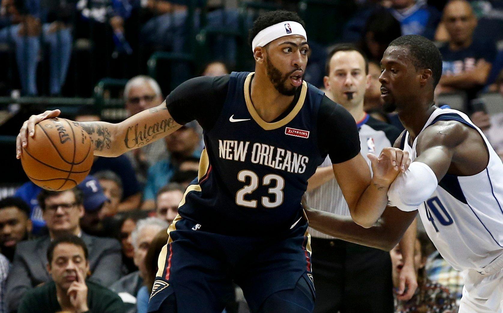 Cousins Davis Help Pelicans Beat Clippers 111 103 LEX18