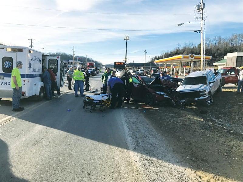 Pikeville Car Crash January