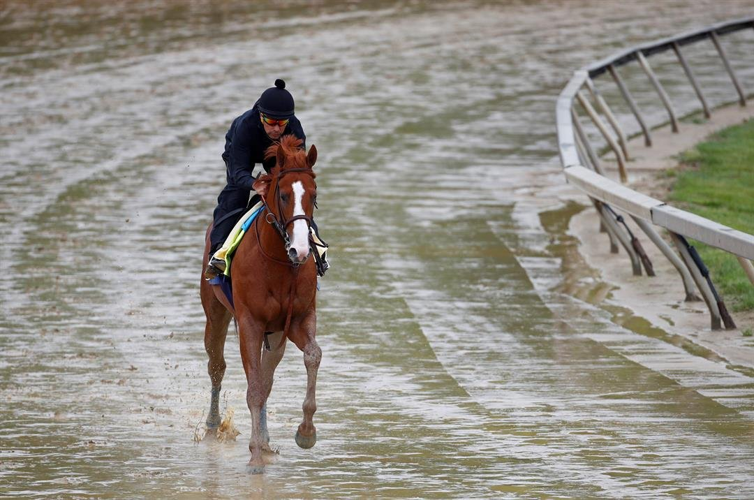 Preakness Looks Like Justify's Race to Lose After Derby Win