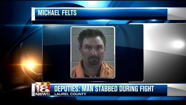 Man Stabbing Another Man County Man Stabs Another