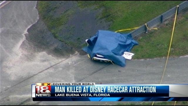 Man Killed When Lamborghini Crashes At Disney Race Car Attractio