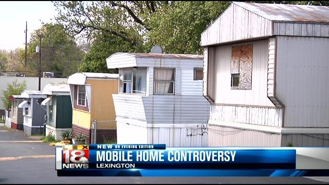 Lexington Mobile Home Owners Have Complaints About New Park Owne
