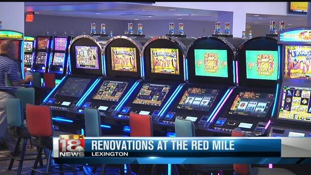 slot machines at red mile